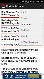 All Wrestling - News screenshot 2