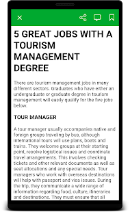 Tourism Management - náhled