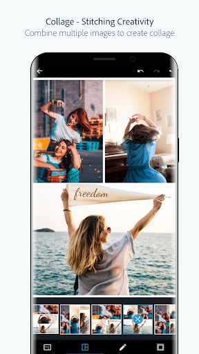 Adobe Photoshop Express:Photo Editor Collage Maker 6.9.747 Screenshots 2