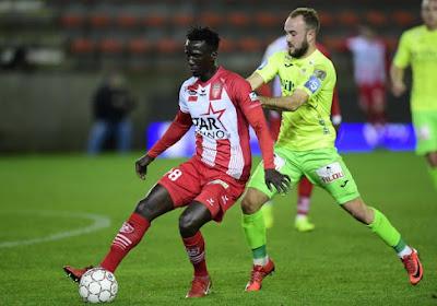 François Marquet (Ostende) s'est confié avant le match à Eupen en Coupe de Belgique