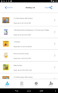 1000 Books Before Kindergarten- screenshot thumbnail