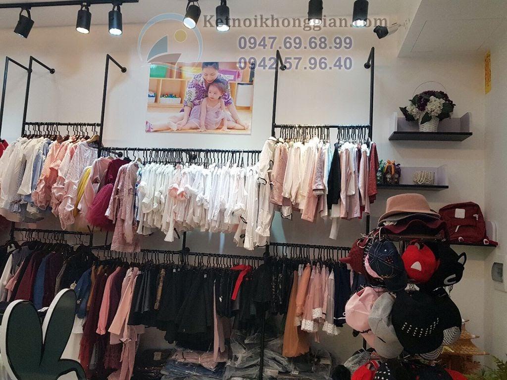 thi công nội thất shop thời trang trẻ em