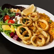 Calamari platter