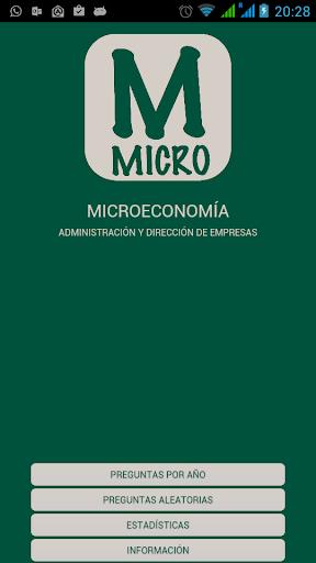Microeconomía UNED