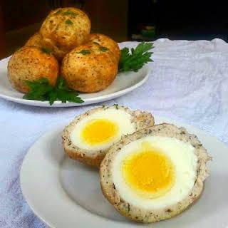 Paleo Scotch Eggs.