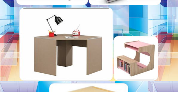 New Study Desk Design - náhled