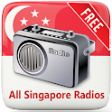 All Singapore FM Radios Free icon