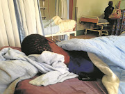 In this picture taken in 2013, patients at Nkhensani Hospital in Giyani were forced to use soiled blankets for up to a month because of laundry problems. The reader bemoans the fact conditions have not improved much.