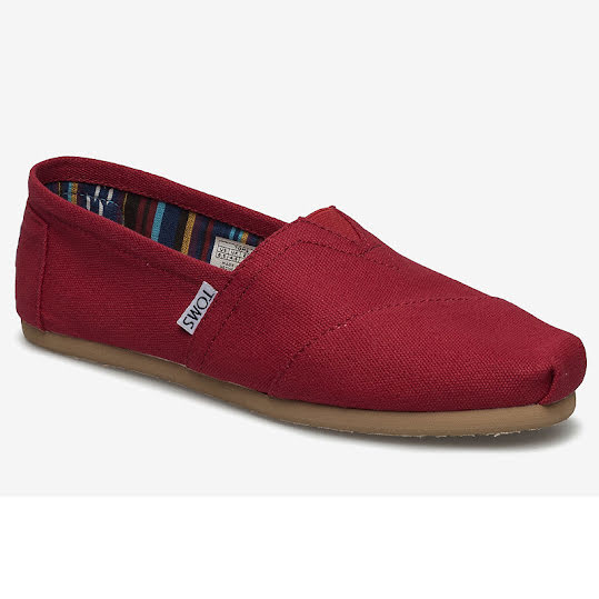 Toms Classics University Red