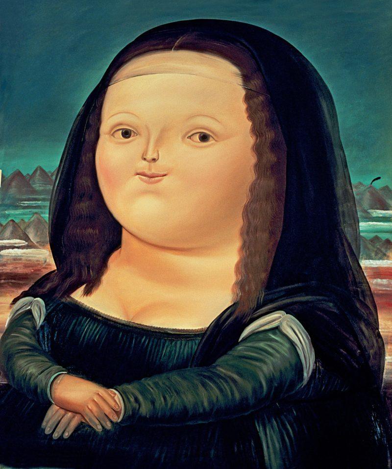 Fernando Botero - Mona Lisa, 1978, 183 x 166 cm