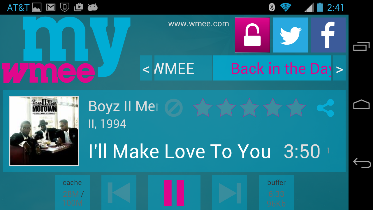 myWMEE- screenshot