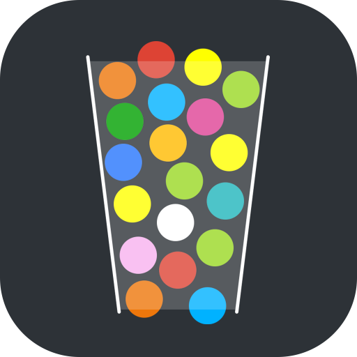 100 Balls - Tap to Drop the Color Ball Game APK indir