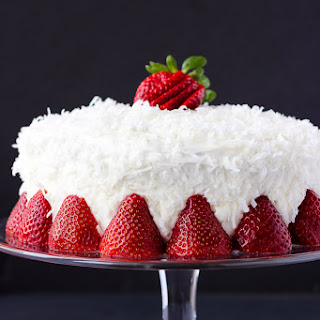 Strawberry Coconut Cake Recipes