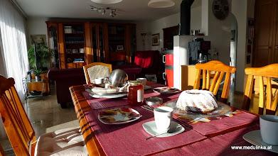 Photo: nach der langen fahrt gibts mal kaffee und kuchen