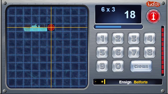 Battleship - Math Game (Free) - screenshot