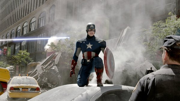 Photo: captain america
