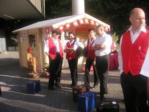 Photo: Petrus hat uns einen schönen Tag reserviert, er wird langsam ein Volksmusikfreund!