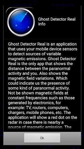 Ghost Detector Real Prank screenshot 1