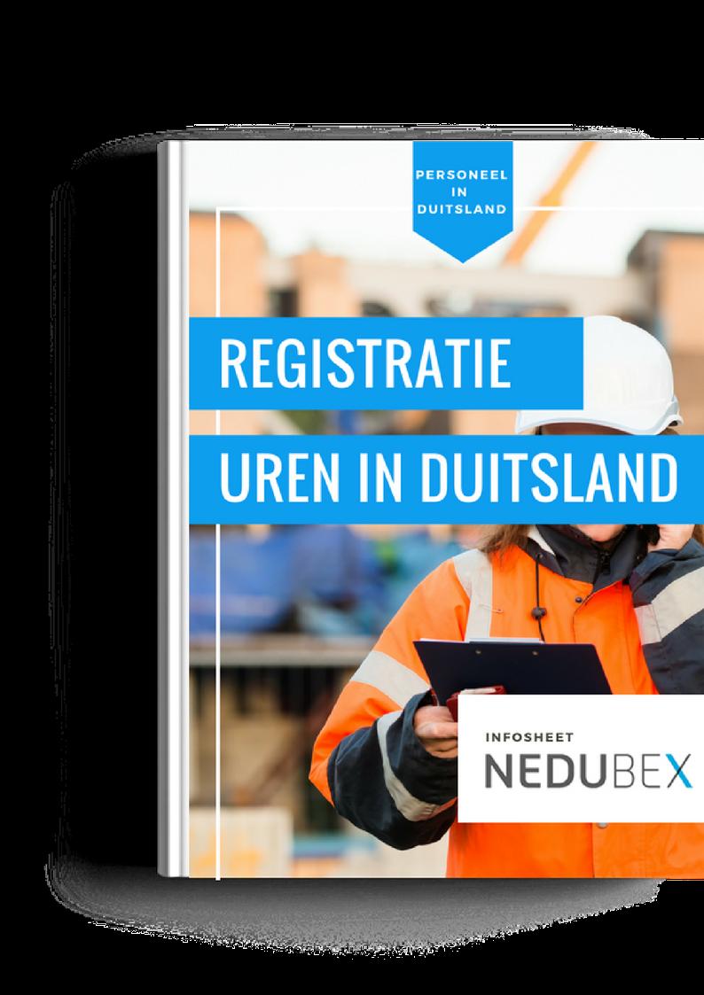 Download infosheet Nedubex + gratis voorbeeld urenregistratie tabel
