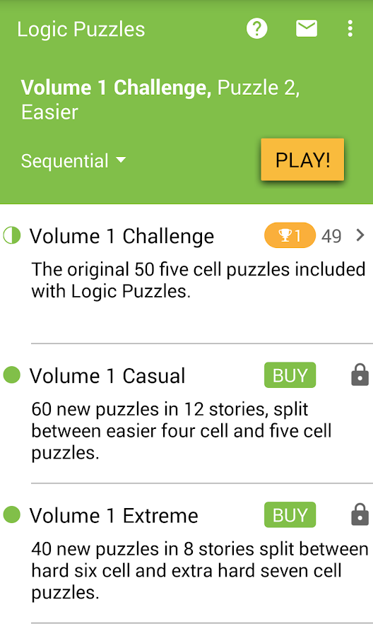 Logic Puzzles - Brain Fun- screenshot