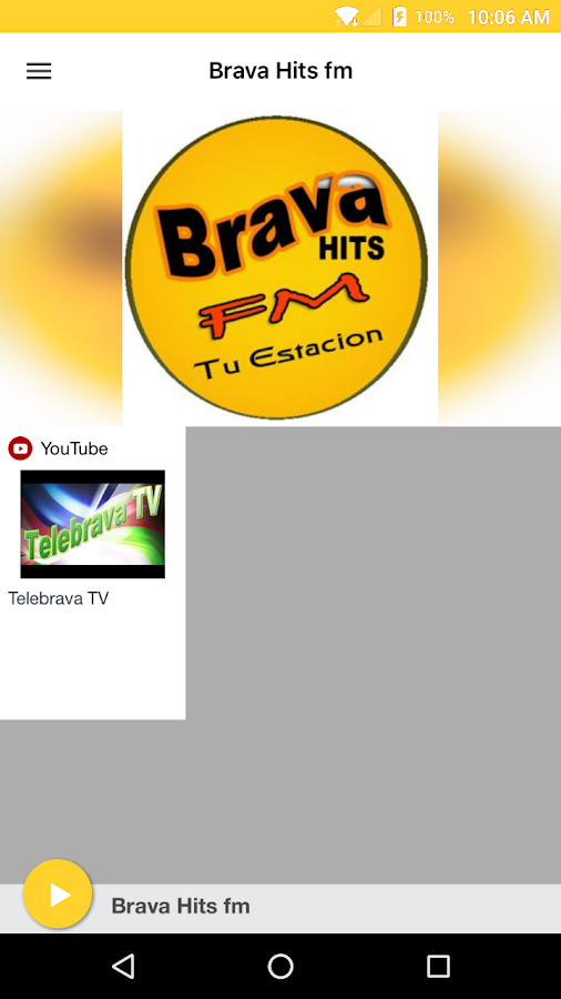 Brava Hits fm- screenshot