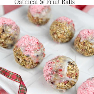 White Chocolate Dipped Oatmeal & Chocolate Balls