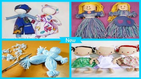 Easy Yarn Doll Tutorial - náhled