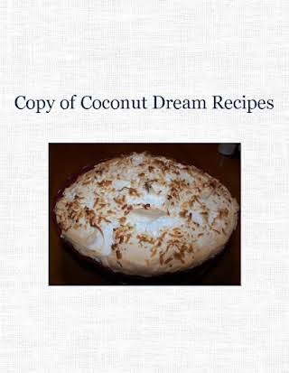 Copy of Coconut Dream Recipes
