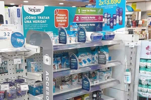 category visibility nexcare implementación farmacia salco brand