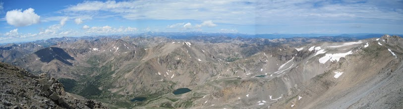 Photo: View from the summit of Mt. Massive