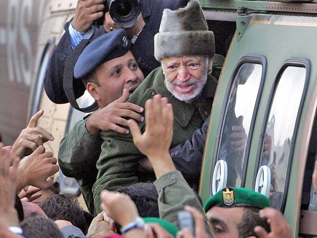 Photo: Was Yasser Arafat killed by radioactive poison?  Body of former Palestinian leader may be exhumed after polonium is found on clothes.  Read the full story at http://ind.pn/LVR5FE Picture credit: AFP/Getty Images