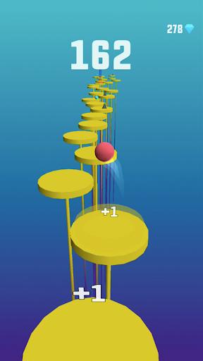 Splashy Tiles: Bouncing to the Beat