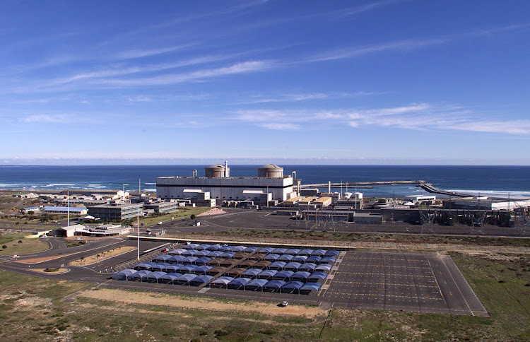 Eskom's Koeberg nuclear power station near Cape Town. Picture: SUNDAY TIMES