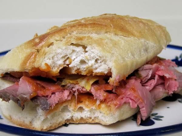 Korean Roast Beef Sandwich