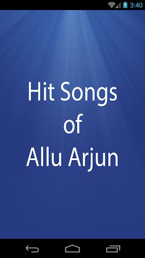 Hit Songs of Allu Arjun