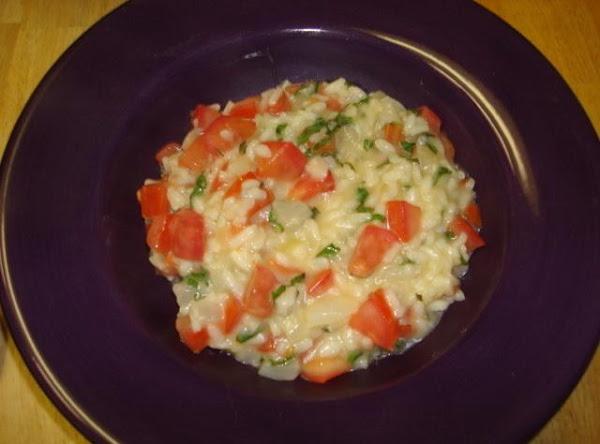 Tomato Basil Risotto Recipe