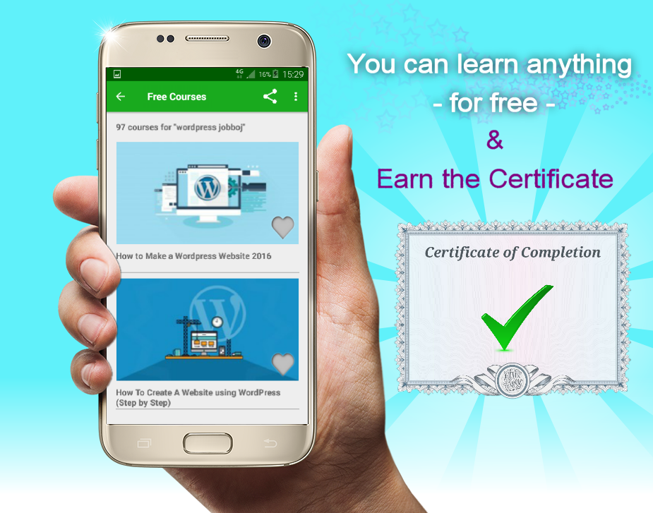Free Online Courses with Certificate- screenshot