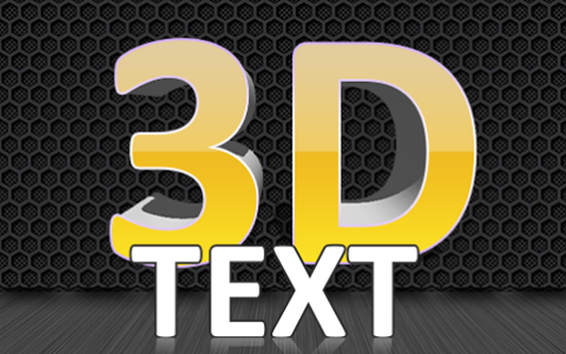 3D Text On Pictures - Logo & Name Art 1.8 screenshots 12