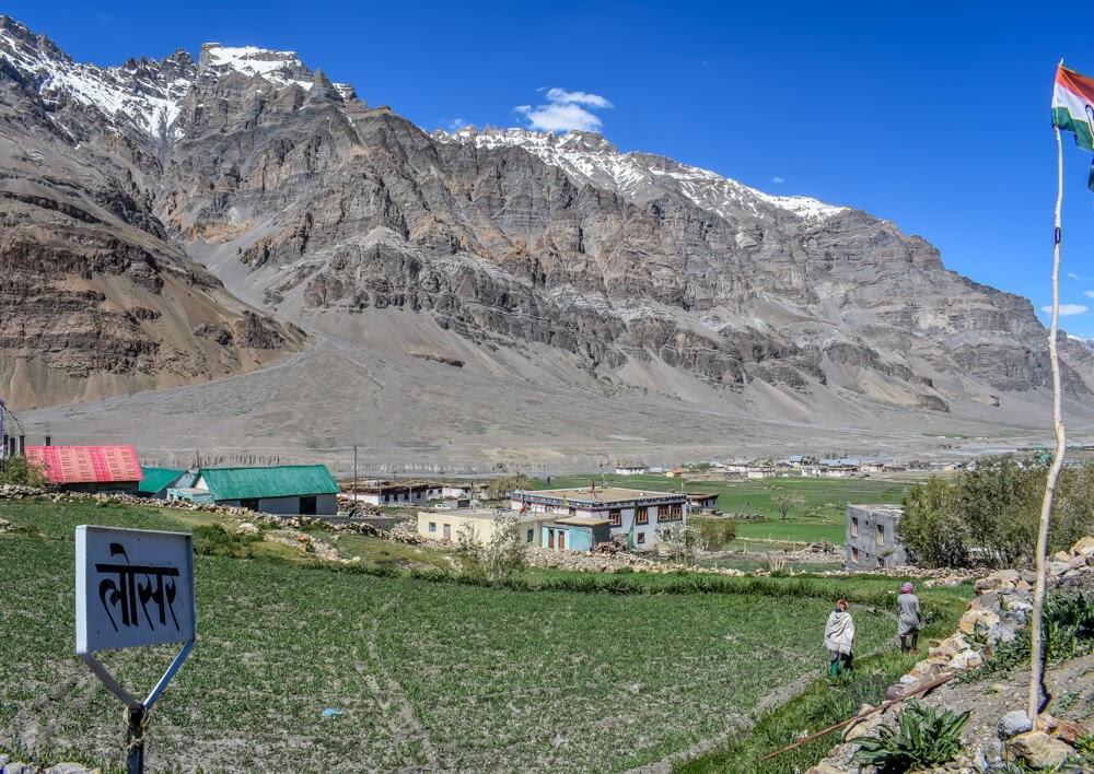 lossar+village+Spiti+valley