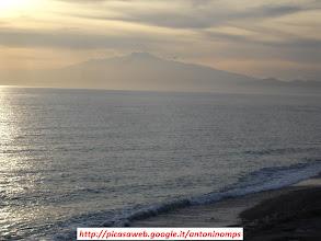 Photo: Etna panorama, visto dalla Costa Jonica calabrese, tramonto