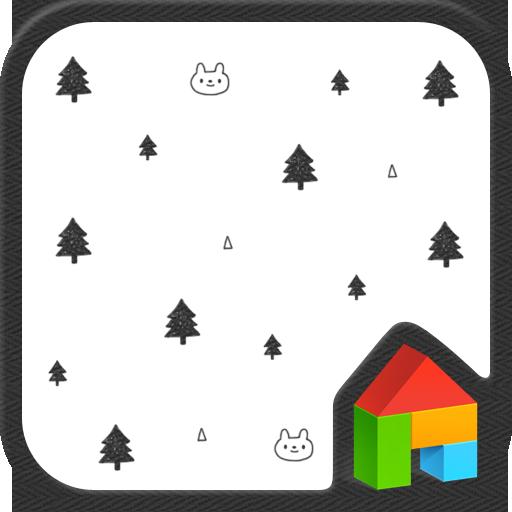 ただ(北欧パターン)ドドルランチャーのテーマ 個人化 App LOGO-硬是要APP