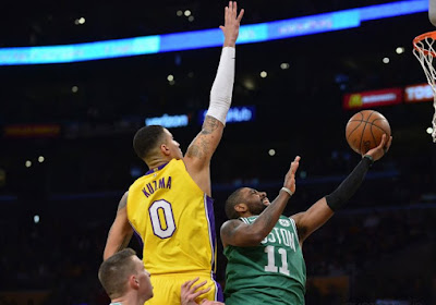 Topper tussen Boston Celtics en LA Lakers op het programma in de NBA, ook Milwaukee Bucks en Phoenix Suns komen in actie