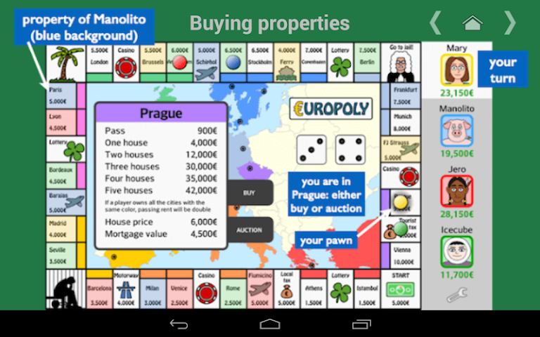 android Europoly Screenshot 19