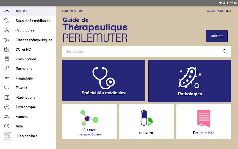 Guide de Thérapeutique Screenshot 8
