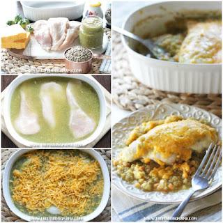 Salsa Verde Chicken Bake