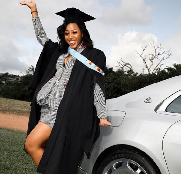 Sbahle credits her parents for graduation success.