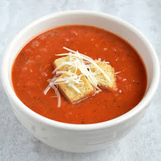 Easy Homemade Tomato Soup.