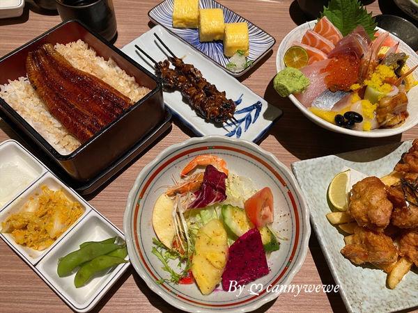 小原田永康街日本料理推薦,高CP質平價的鰻魚飯套餐/小原田海鮮丼飯