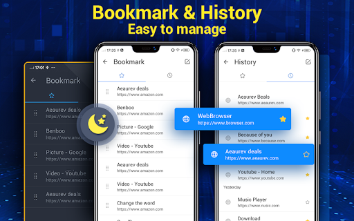Browser for Android 1.9.1 Screenshots 18