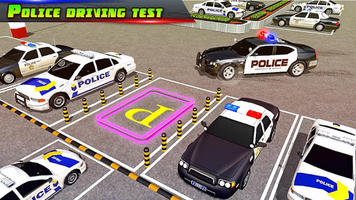 Police Car Parking City Highway: Car Parking Games 2.0 screenshots 1